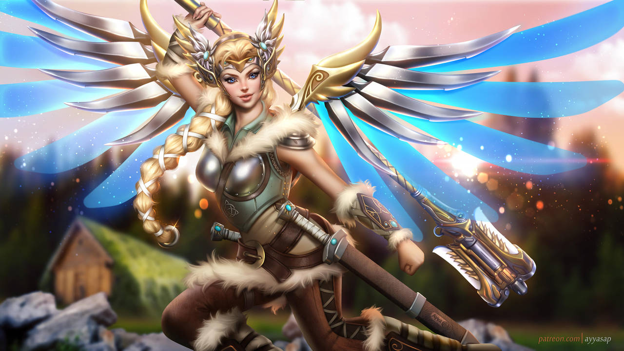 Valkyrie Mercy by AyyaSAP