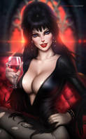 Elvira Mistress of the Dark by AyyaSAP