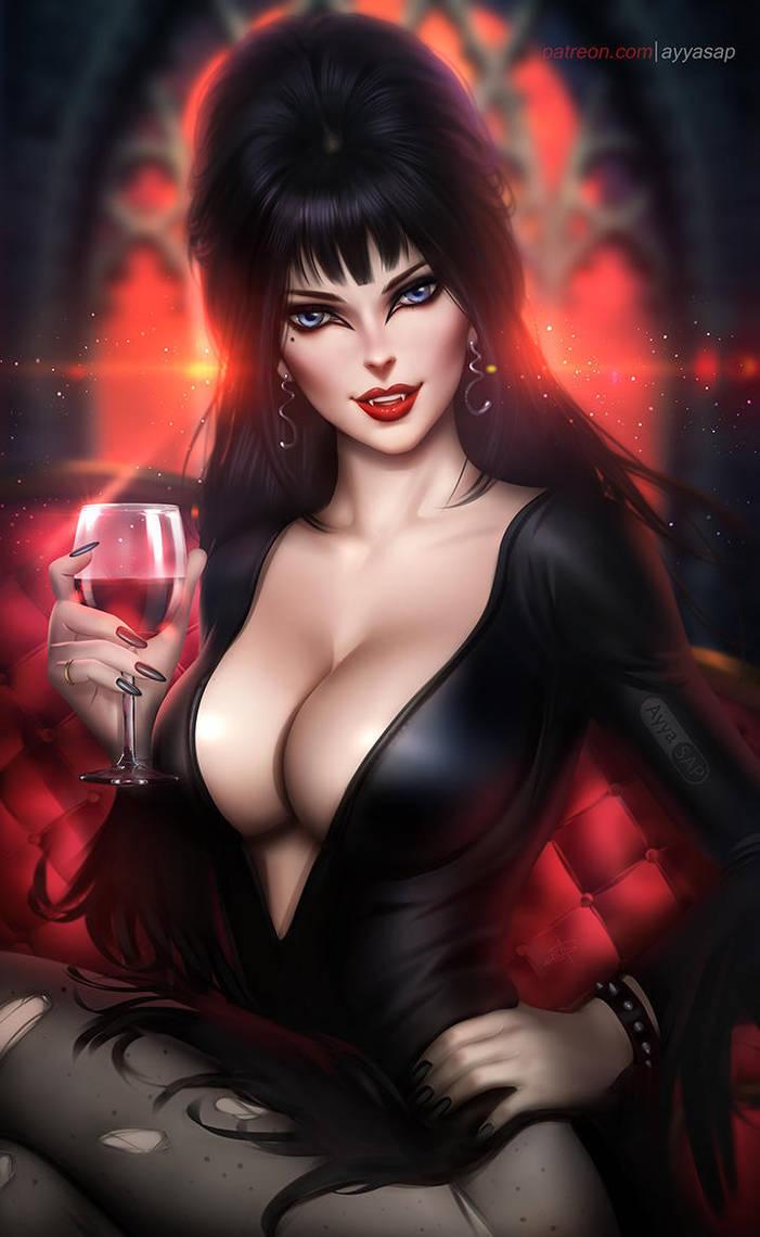 Elvira Mistress of the Dark by AyyaSAP