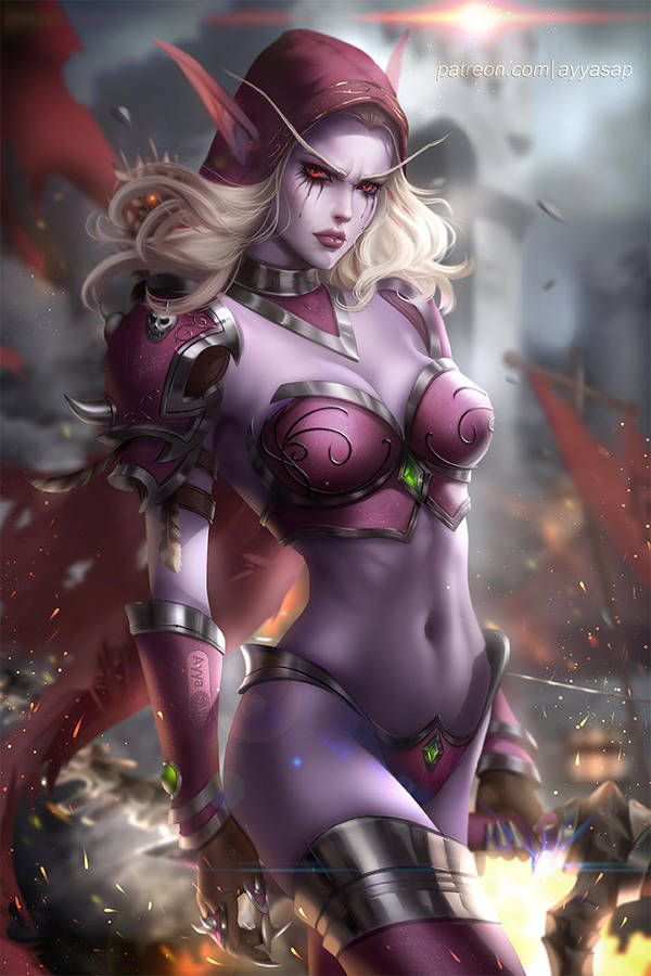 Sylvanas Windrunner by AyyaSAP