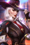 Ashe Overwatch by AyyaSAP