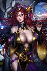 Fire Emblem Loki (Commission) by AyyaSAP