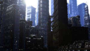 Life city 1 by angelitoon