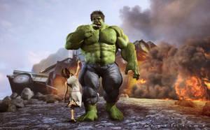 Hulky by angelitoon