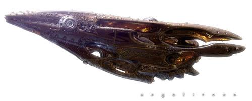Dune Steam: ATREIDES_ process6 by angelitoon