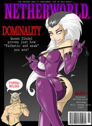 MK mock Magazine Cover by Blunt-Katana