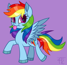 Rainbow Dashy by wildberry-poptart