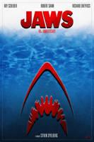 Jaws 40th Anniversary Poster_1 by DanieleRedRossini