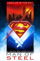 Man of Steel Poster by DanieleRedRossini