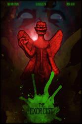 The Exorcist Movie Poster by DanieleRedRossini