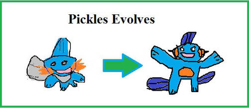Pickles Evolves by mewtwo7778