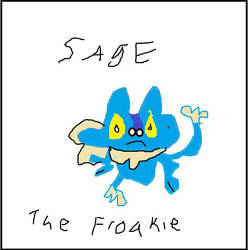 Sage the froakie by mewtwo7778