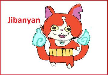 Jibanyan the yokai cat by mewtwo7778