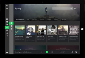 A Modern Media Center - Spotify by wwsalmon