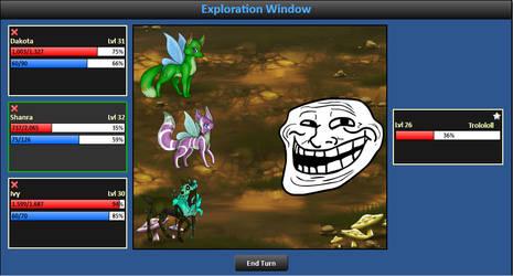 I Be Fighting Them Trolls by YukiWolfe