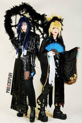 Kaoru and Kyo (Jealous PV) cosplay by smokingZombie