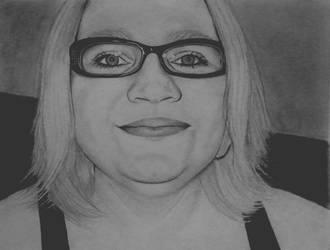 Portrait of a friend 2 by KatersArt