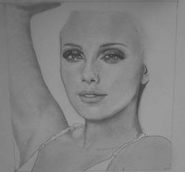 WIP Charlize Theron by KatersArt