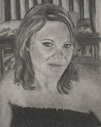 Portrait of a friend 3 by KatersArt