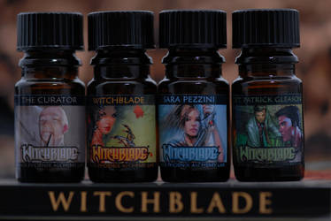 Witchblade scents by tedwin