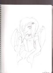 Vampie Girl by arielxpopxrox765
