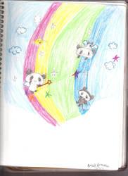 Pandas by arielxpopxrox765