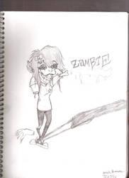Hot MesS Zombie Gal by arielxpopxrox765