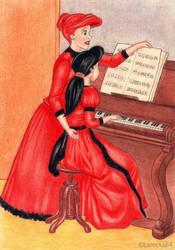 Disney - The Piano Lesson - by Larocka84