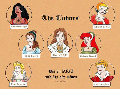 Disney and The Tudors by Larocka84