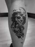 Neptune Tattoo by t-o-n-e