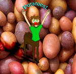 Potatoes by magicpupy