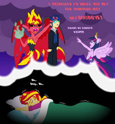Sunset Shimmer's Nightmare by BBBHuey