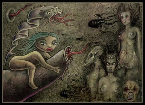 Beneath Dark Waters by offermoord
