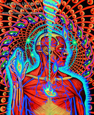 Lateralus - Tool . UV FAN ART by fluorencia