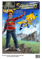 Sonichu Remake Issue 0 - Cover by gabmonteiro9389