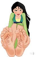 Mulan's soles by Solesartist