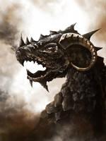 Bronze One Dragon by pietrekm