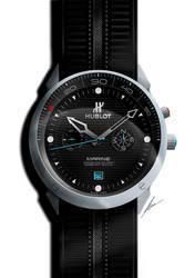 Hublot Marine wristwatch concept by pietrekm