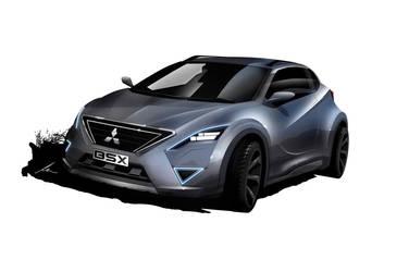 Mitsubishi BSX concept by pietrekm