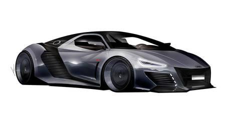 AUDI R supercar concept by pietrekm
