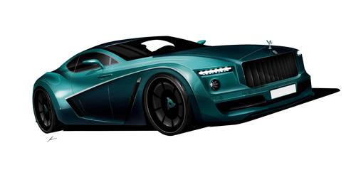 Rolls Royce Camargue GT concept by pietrekm
