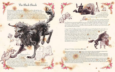 Beastkeeper Black Shuck page by invent-a-shell