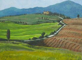 Tuscany by MarkHarman