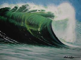 Green Wall by MarkHarman
