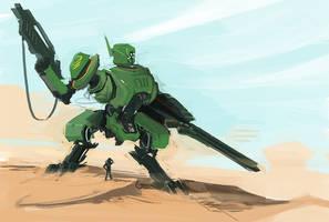 Desert strike by funzee