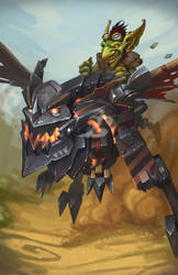 Goblin Deathstrider by funzee