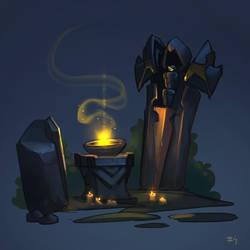 Shrine by funzee
