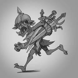 weapon-bearer by funzee