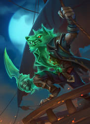 Cursed worgen outlaw by funzee