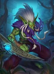 Zul'jin fan art Hero card by funzee